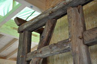 Das in den Bauernhof integrierte Fachwerk <br /> Copyright: Dr. Martin Gülpen, Grugapark