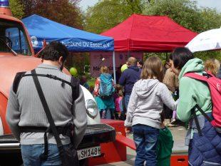 Die vielen Angebote des DKSB erfreuten sich großer Beliebtheit bei den Kindern